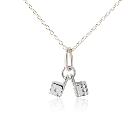 Dice Necklace - Lucky Necklace IDeas