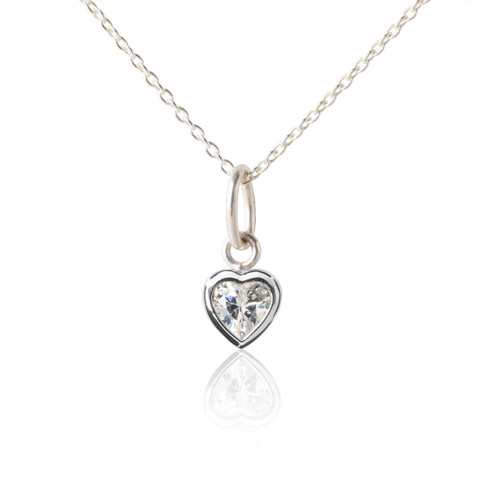 Heart Necklace for Tweens & Teens