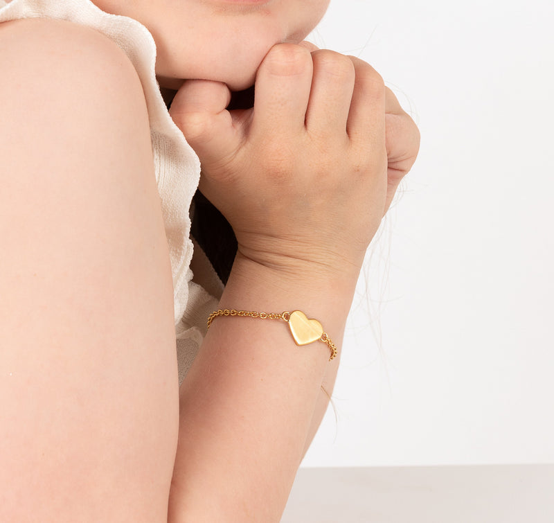 Gold Girls Bracelet - Girls gift ideas