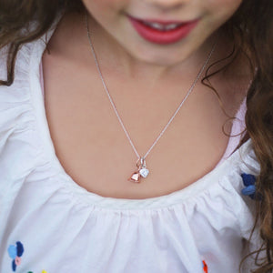 Children's Adjustable Necklace with Kid's Pendants