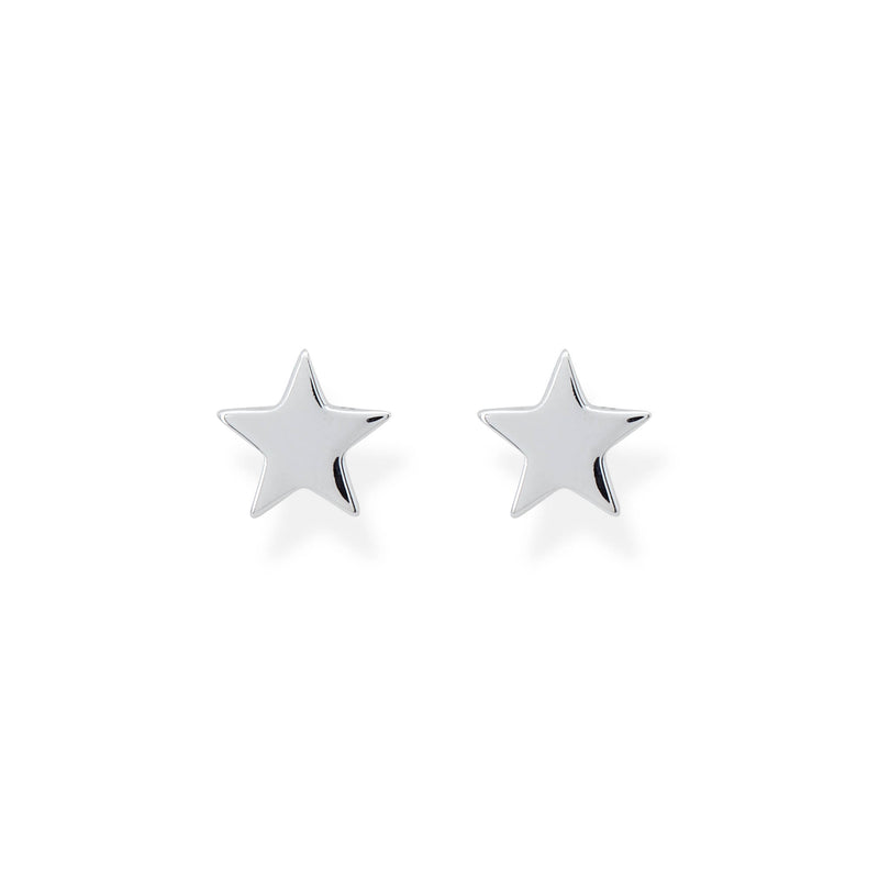 Girls star earrings
