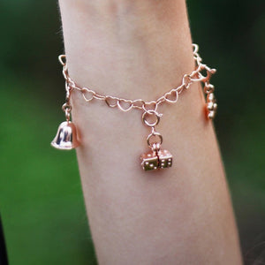children's charms and kid's charm bracelets - dice charm