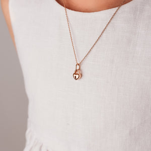 Love Lock Necklace - Girls Lock Necklace