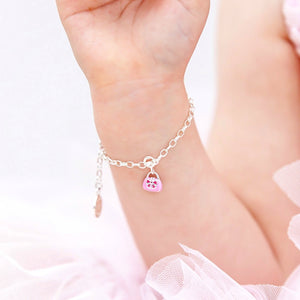 Tween gift ideas - Handbag charm on charm bracelet