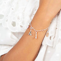 quality girl's jewellery - silver charms - Bell charm