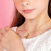 Children's Gold Necklace - Adjustable Italian Chain