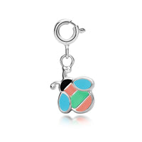 Kid's Bee Charm - sterling silver