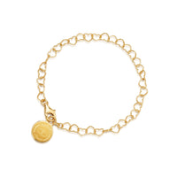 Gold Children's Charm Bracelet