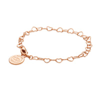 Rose Gold Children's Charm Bracelet