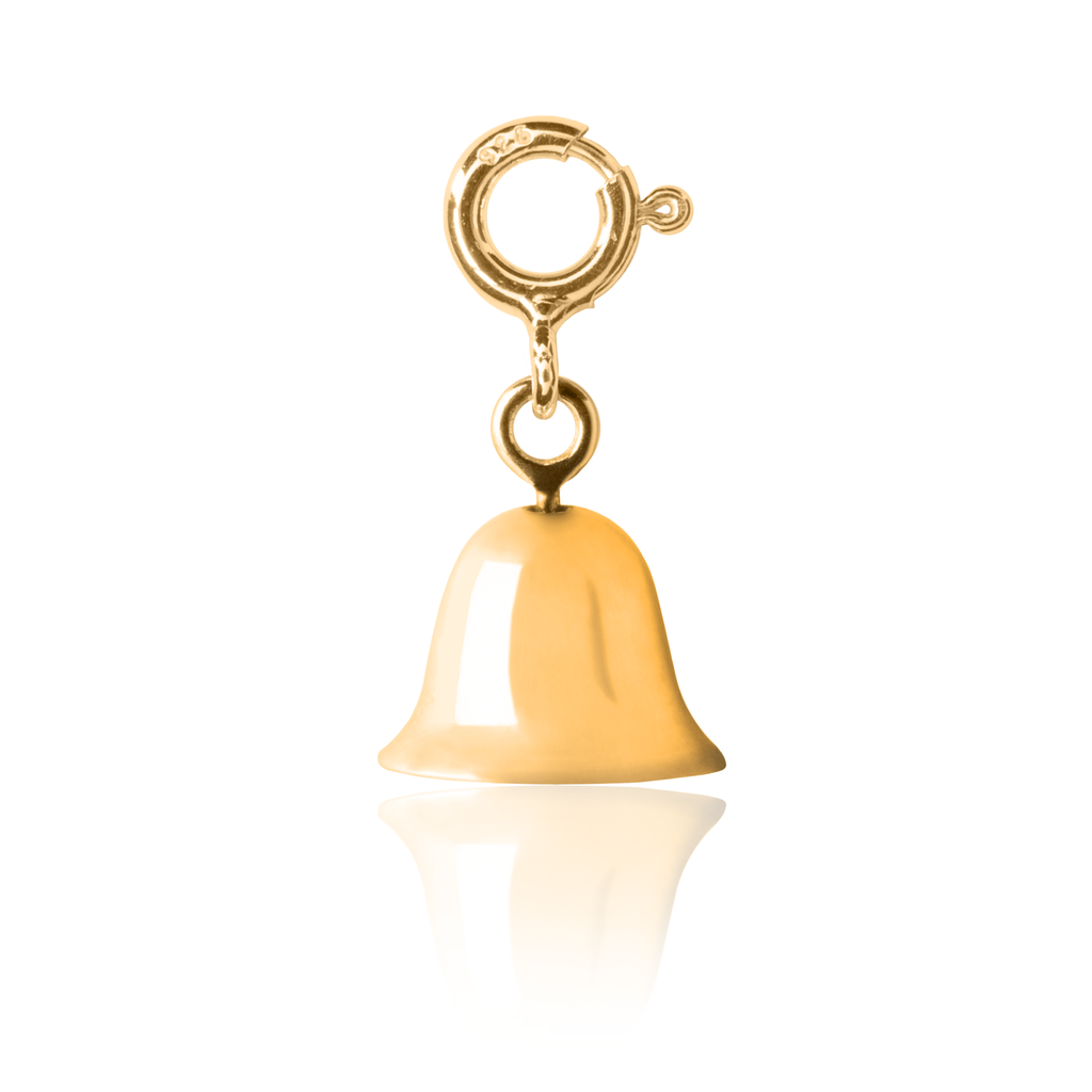 Kid's Twinkle Bell Charm Gold