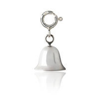 Girl's Bell Charm - sterling silver jewellery for girl's