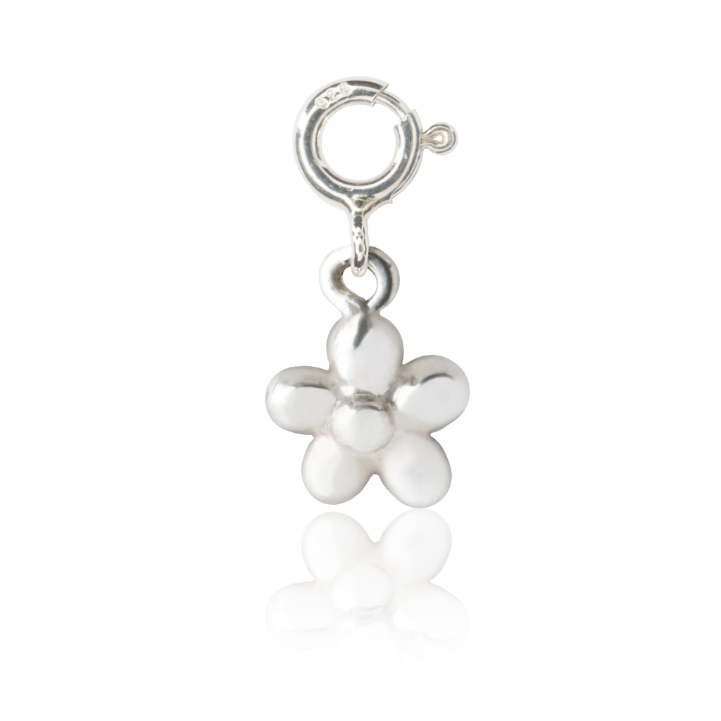 Sterling Silver Children's Flower Charm