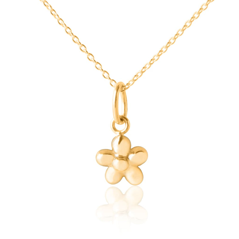 Flickering Flower Pendant - Gold - No Gift Box - Pendants
