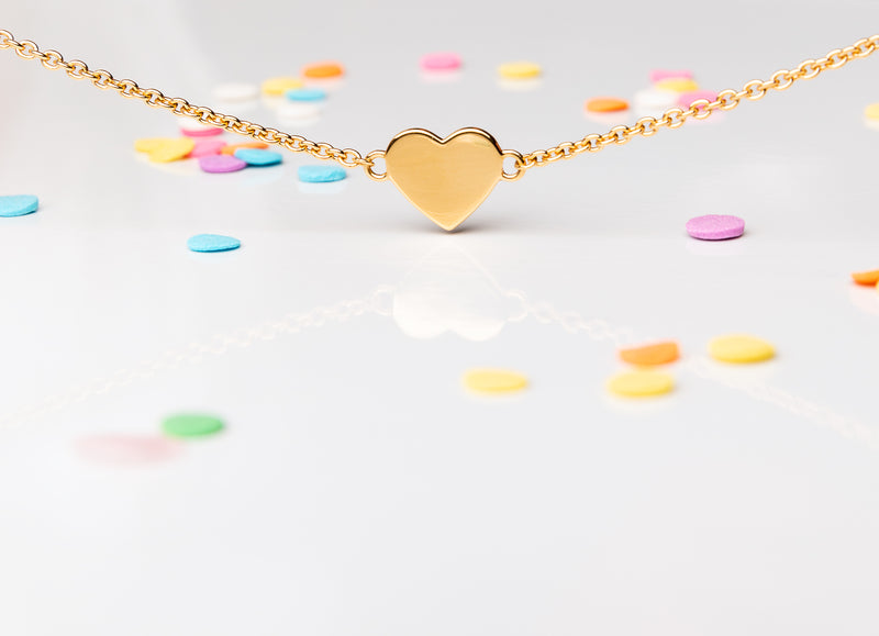 heart jewellery - girls gifts - jewellery for kids