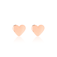 Shiny Baby Hearts - Rose Gold