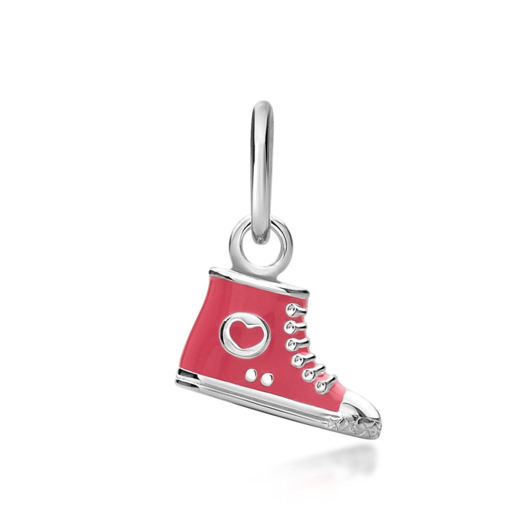 Children's High-Top Shoe Pendant - Pink Pendant