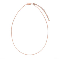 Children's Necklace in Rose Gold - Adjustable chain