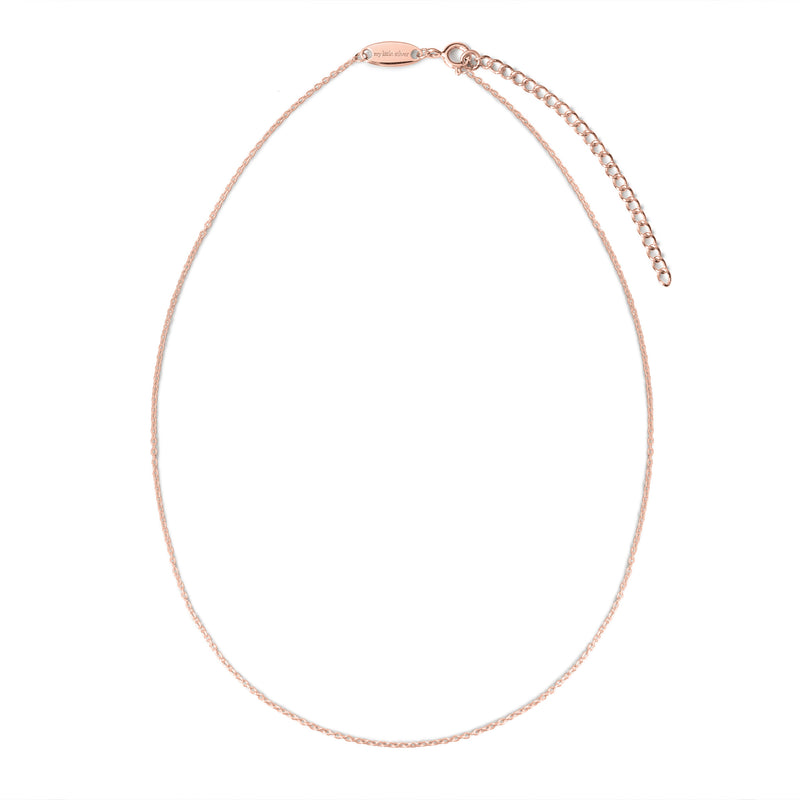 My Little Silver Classic Children's Necklace - Rose Gold