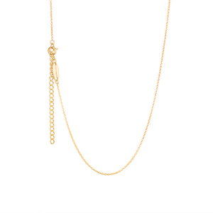 Gold children's necklace