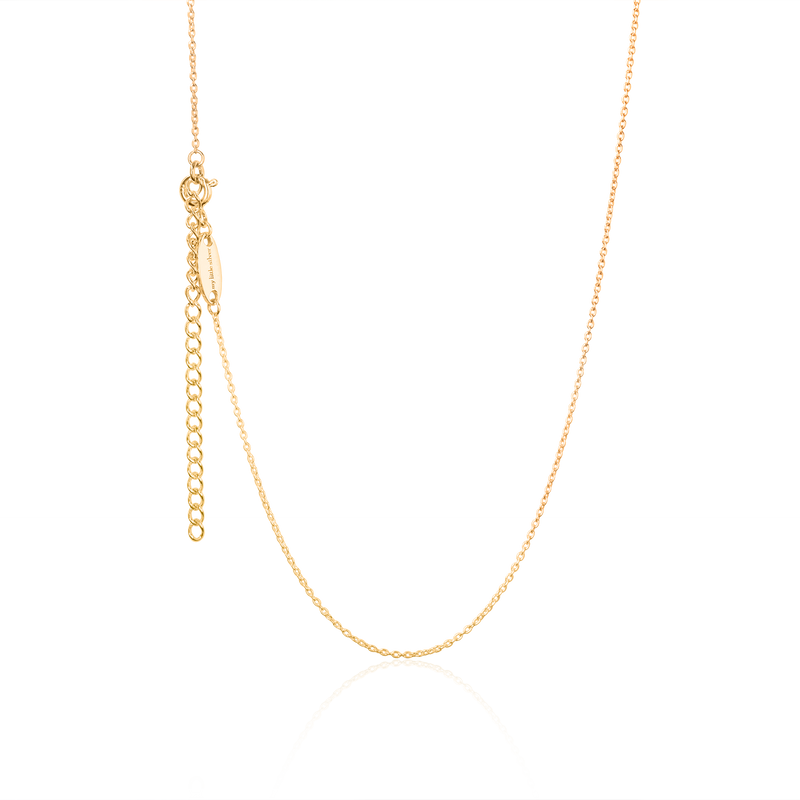 Twinning Dice Pendant & Necklace - Gold
