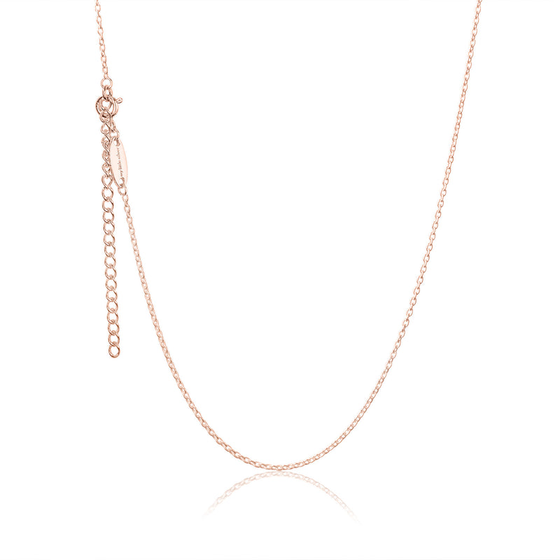 My Little Silver Classic Children's Necklace Rose Gold