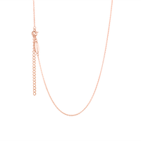 Rose gold children's adjustable necklace