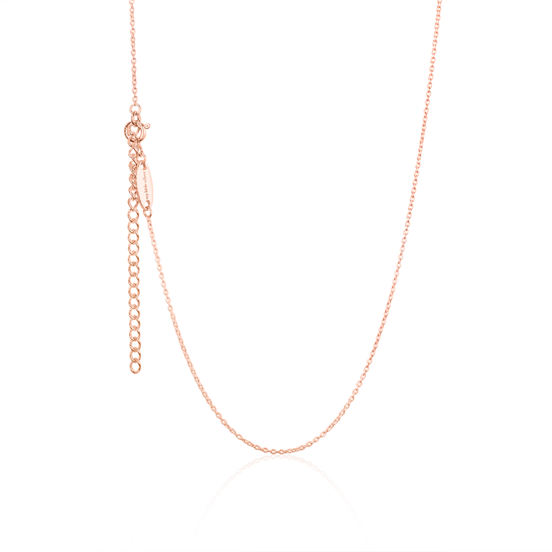 Children's rose gold necklace