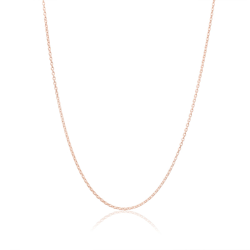 Rose Gold - My Little Silver Classic Children's Necklace