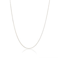 Silver - My Little Silver Classic Children's Necklace