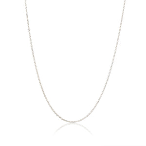 Silver Children's necklace chain - Adjustable Italian Necklace