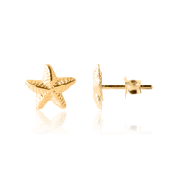 Girl's Star Earrings in Gold - Kid's Jewellery