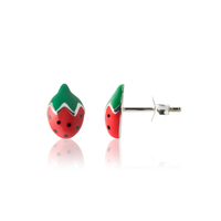 Earrings - Striking Strawberry