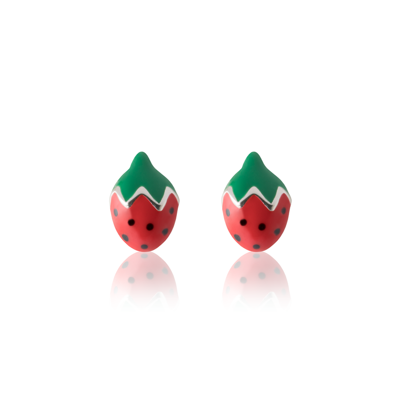 Striking Strawberry Earrings