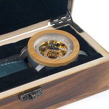 Load image into Gallery viewer, BOBO BIRD Men's Automatic Bamboo Wooden Watch