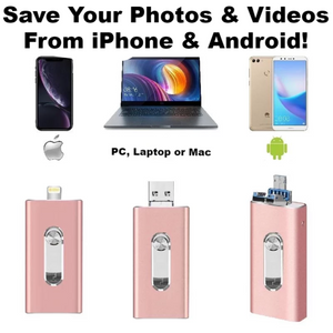 PhotoGuard - iPhone, iPad  &  Android Micro USB Data Transfer Drive