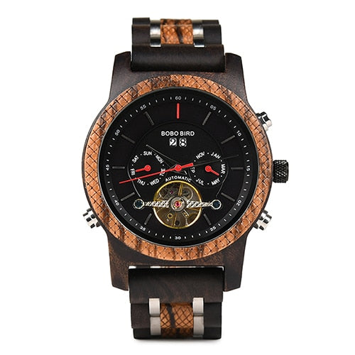 BOBO Bird Men's Wooden Luxury Watch