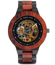 Load image into Gallery viewer, Men's Sandalwood Automatic Wooden Watch