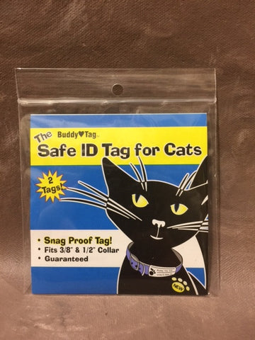 Buddy Cat Safe ID Tag