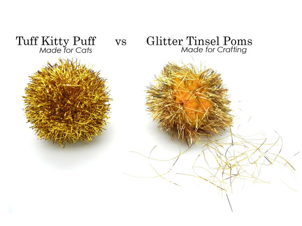 Tinsel Balls for Kitty