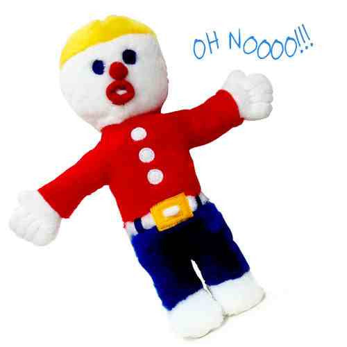Mr. Bill Dog Toy