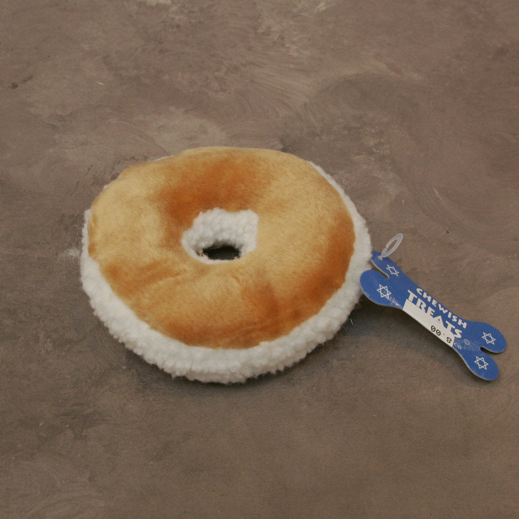 Plush Bagel Dog Toy