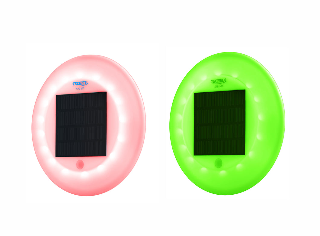 Multi-color Solar Floating Pool Light Model SPL-102 (2 Pack)