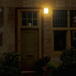 Solar Wall Light – Amber or White Light Model SSL-303