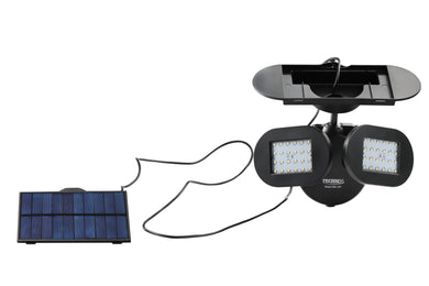 Solar Security Light- Twin Light Model SSL-307 (1 Pack)