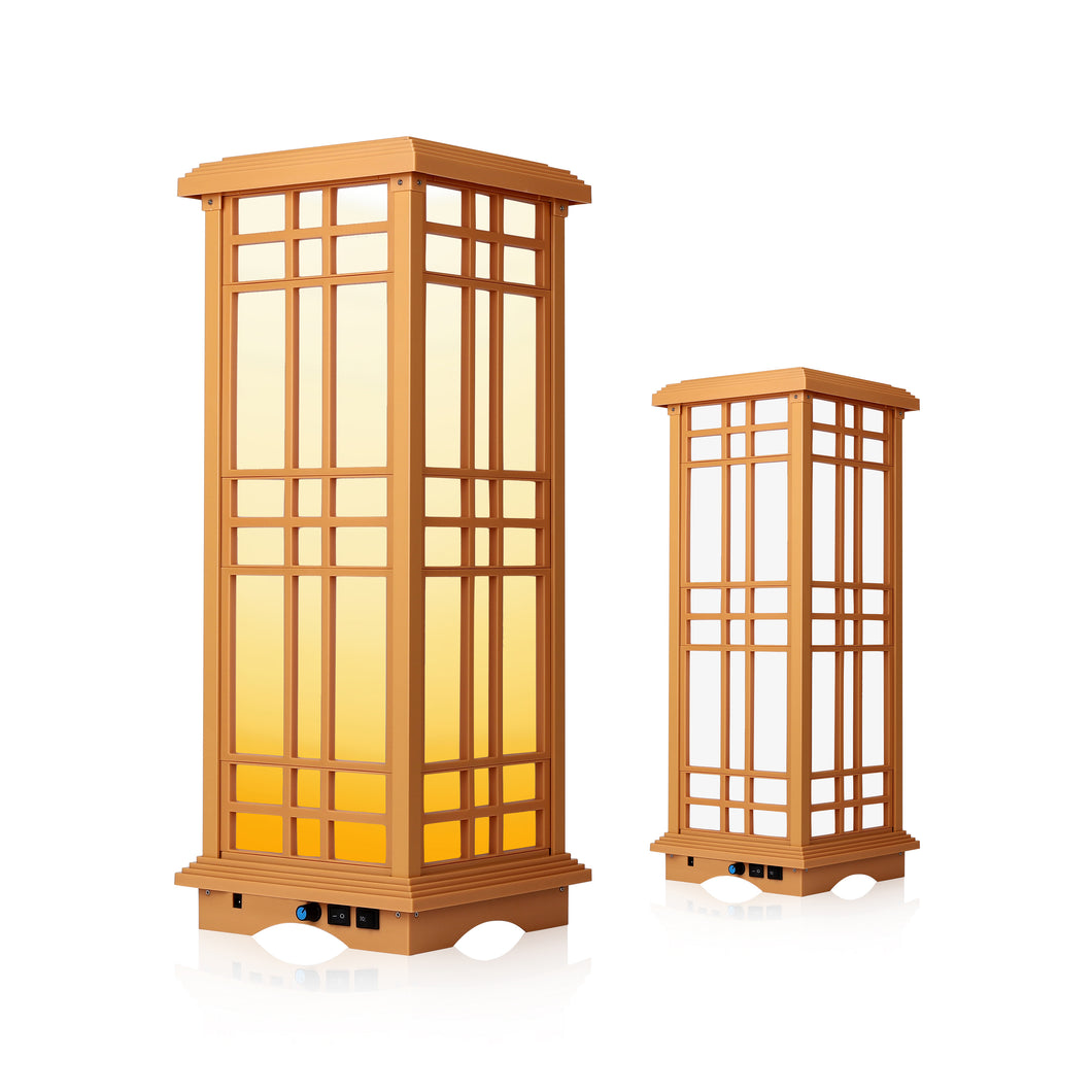Zen Indoor Lantern, SJL-2602 (Height 24.5