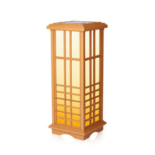 "Solar Zen Lantern - Amber or White Light, SJL-642 (Height 24.5"") (1 Pack)"