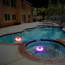 Multi-color Solar Floating Pool Light Model SPL-102 (2-pack)