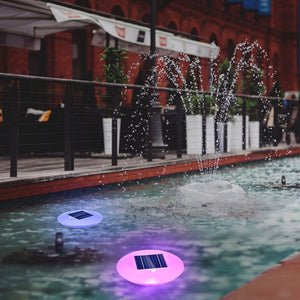 Multi-color Solar Floating Pool Light Model SPL-102