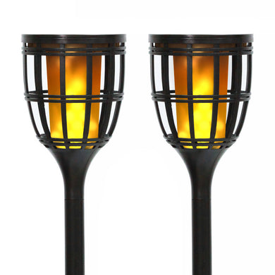 Solar Tiki Torch & Garden Light Model STL-201 (2 Pack)