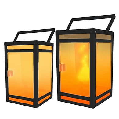 Portable Solar Torch Lantern Model STL-202 (2-Pack)